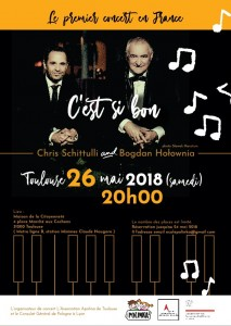 Koncert polsko – francuskiego duetu Chris'a Schittulli i Bogdana Hołownii post image